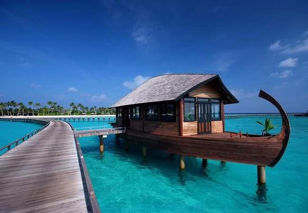 Popular romantic beautiful villas prefab beach house
