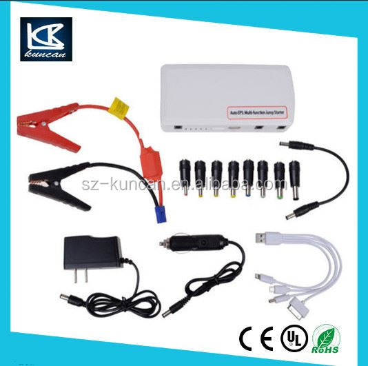new car accessories products safety jumper cables 15000mah diesel car jump starter China Supplier