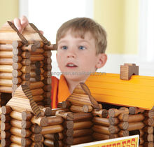 Educational TreeHaus wooden DIY house toys for kids \wooden combined toy\ Lincoln Logs wooden toys\Creative gifts