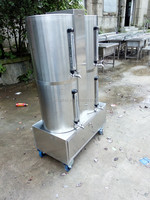 stainless steel 55 gallon container with faucet