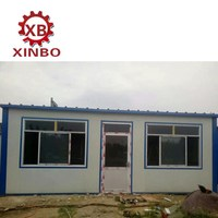China 20ft Cheap container homes used as office container or temporary living house