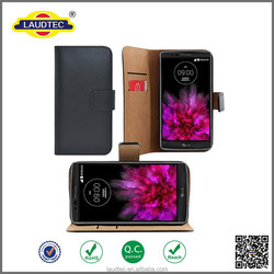 2015 New Arrival! book style wallet leather Case for LG G Flex 2