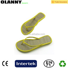 hot sale popular customized straw flip flops