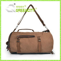 GC Canvas Leather Military Hiking Bag