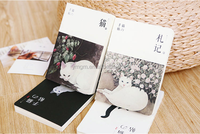 Japanese cat blank notebook hand books for book sketch book stationery