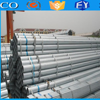 professional manufacturing advanced material in construction galvanized steel round tube