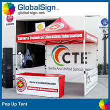 printed custom Ez pop up canopy tent promotional tents canopies