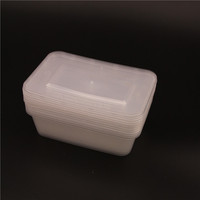 water-seal disposable pp plastic food container with lids