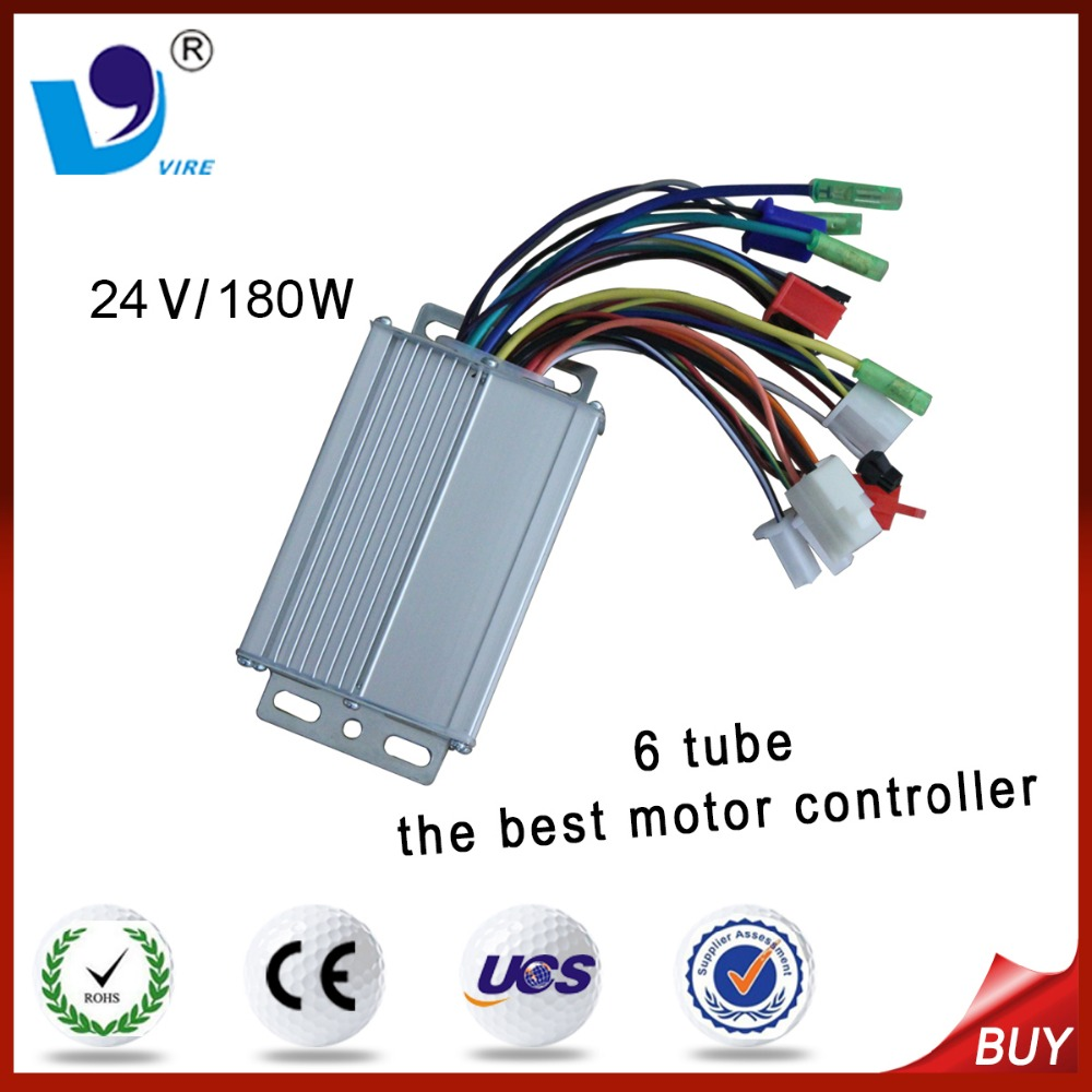 electric bike dc motor speed controller 24v 200w