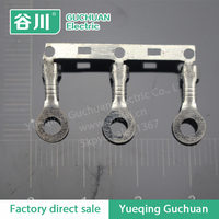 Chain circular terminal lugs Horizontal joint brass terminal O type terminal connectors belt buckle DJ4311-2.2A