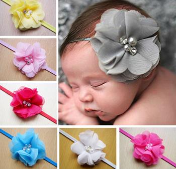 z a baby hair accessories kids artificial flowers hair