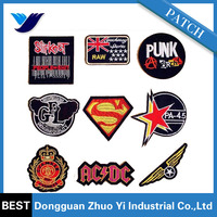 wholesale high quality Clothes armbands embroidered custom patch birdie