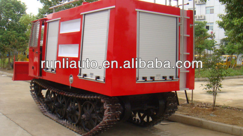 Direct factory price ! Crawler forest fire fighting engines/antique fire trucks for sale