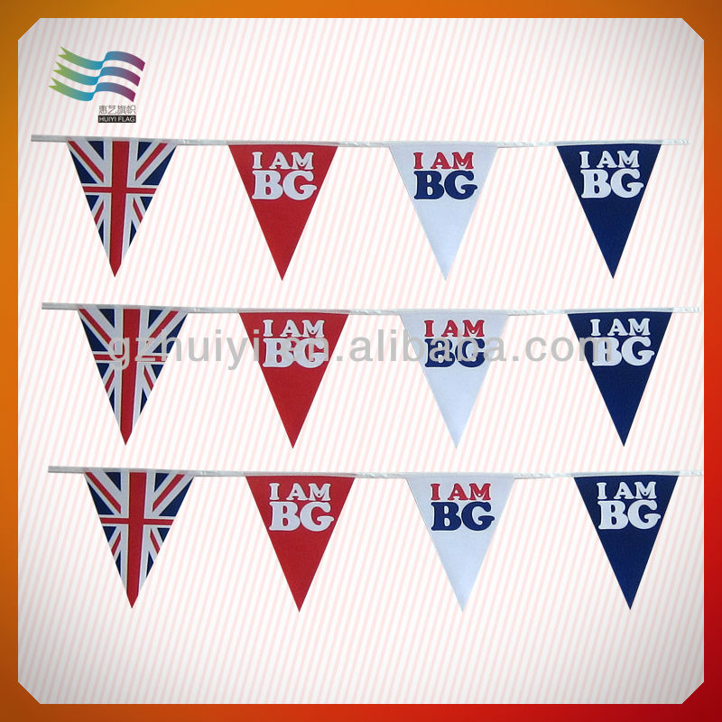 decorative outdoor uk string flags