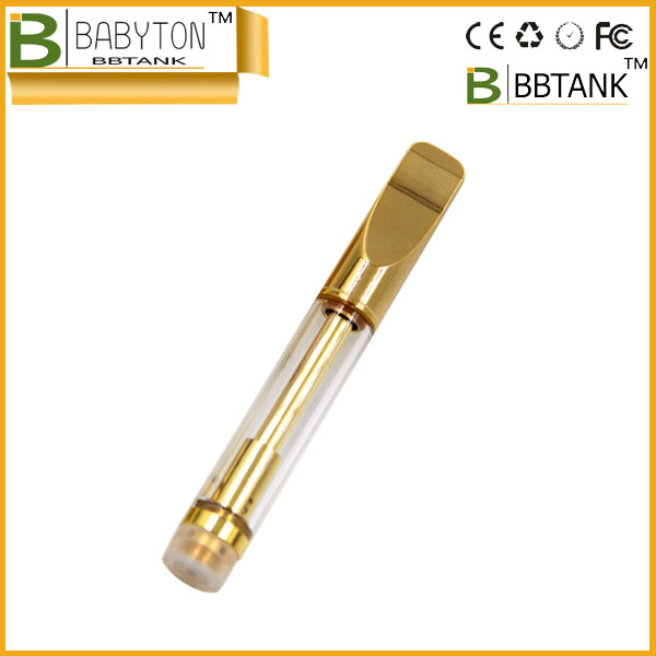 BBTank Top Quality Ceramic Vape Cartridge Case Clear Tube E Cigarette For 510 Oil Thick Atomizer
