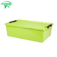 Rectanglar clothes box hard containers under bed plastic storage box