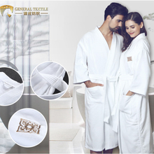 China supplier couples bathrobe wholesale hotel towel cotton sex men/women bathrobe
