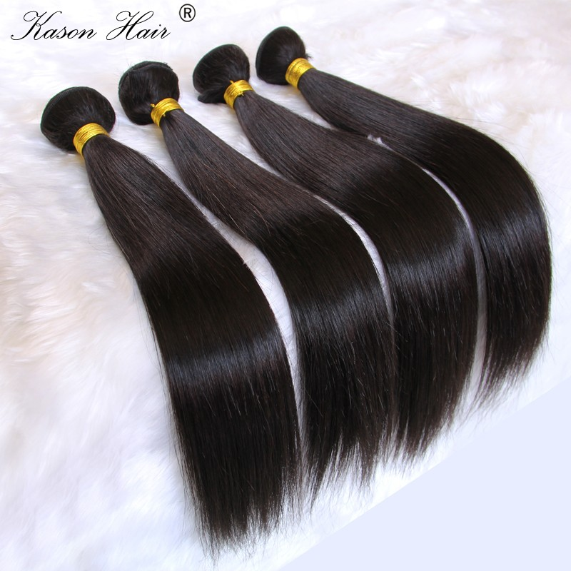 Great Quality Virgin Indian Human Hair Weave The Best Hair Vendors Qingdao Kason Hair Company