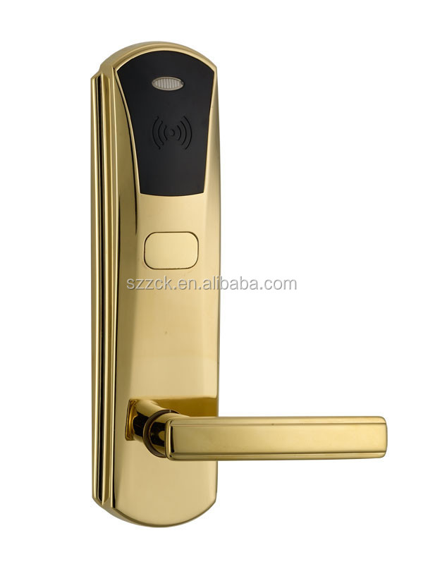 ID / Temic card type hotel door lock Zinc alloy material key card hotel door lock