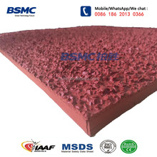 ECO Friendly Full Pour Polyurethane Plastic Runway Surface Material For Stadium