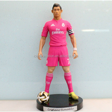 oem custom soccer player action figure China manufacturer
