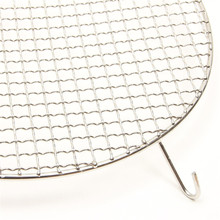 stainless basket and trays galvanized bbq grill net high manganese steel crimped wire mesh