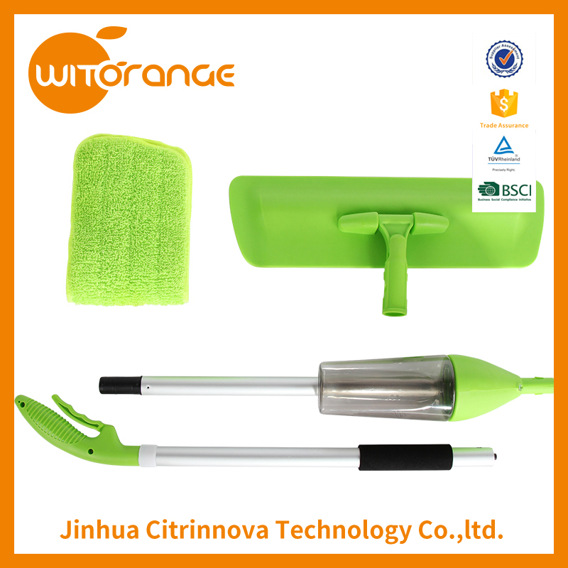 Witorange High quality magic thicken stainless steel handle Aluminum spray mop pad