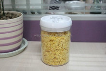 kitchen airtight canister tea coffee rice round storage container with sealed lid