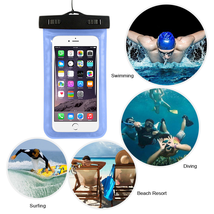 Universal high quality waterproof bag for mobile phone,for iphone 7 phone bag