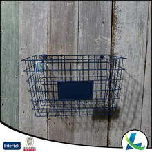 High Quality Vintage Metal Wire Office Basket