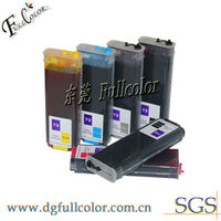 6 Colors 2013 New Refillable Ink Cartridge For HP Designjet T710 Inkjet Printer