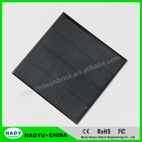 HOT Sale Monocrystalline Solar Panels 3W 6V Mini Solar Cell For Small 3.6V Power Charger Appliances 145*145*3 MM High Quality