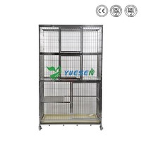 High Quality Steel Wire Metal Pet Large Stainless Steel Dog House Kennel Cage