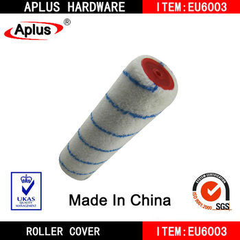 blue stripe melon polyester fiber paint roller