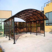 low price reinforced carports garages with polycarbonate roofs