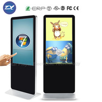 3D Android HD media player digital advertising screens for sale portable lcd digital signage