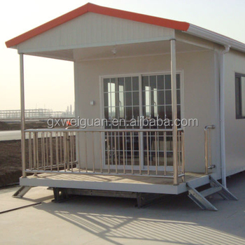 Prefeb luxury house with light steel and sandwich panel