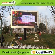 Wall mounted 5mm led sign smd2727 full color P5 outdoor fixed programmable led display board