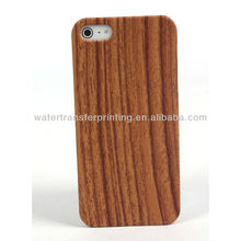 WOOD decoration pattern hydrographic p011 printing case For iphone 5