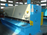 4000mm capacity QC11Y-6X4000 cutting machine for stainless steel CE approved
