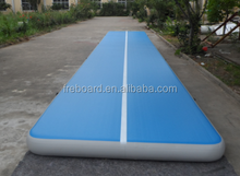 Good quality inflatable air track for gym/Outdoor inflatable air tumble floor