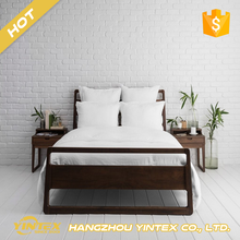 Luxury Dubai comforter set / bedspread fabric / 100% polyester cheap wholesale microfiber bed sheet set for hotel hospital