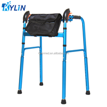 look folding walker with bag for patients KL995L