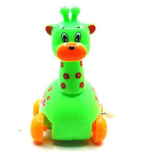 OEM High Quality Kids Plastic Walking Giraffe Wind up Toys