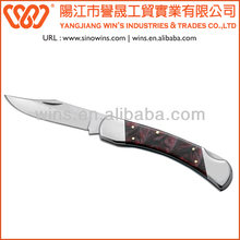 Folding Knife Single Blade Knife Damascus Pocket Knife