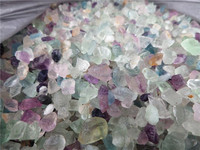 5-7mm Wholesale Price of natural fancy flourite rock crystal stone