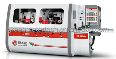 High speed four spindle wood four side planer moulders with CE certification
