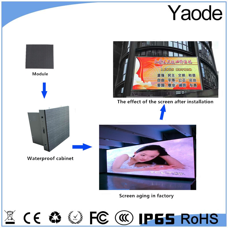 Big xxx video screen/ p5 outdoor led display