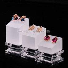 excellent clear color acrylic jewelry display set
