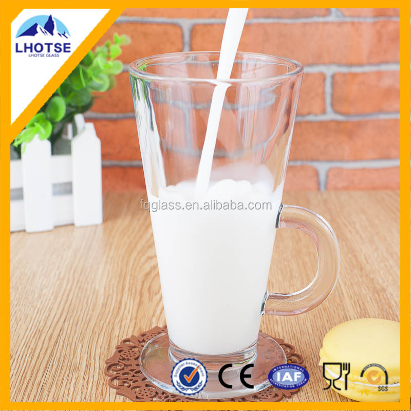 8oz Crystal Clear Stable Botttom Glassware Cup Home Goods Wholesale from Anhui Faqiang